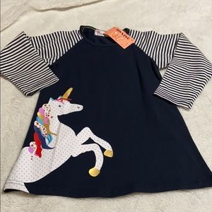 Toddler Girls Pullover Dress. NWT!